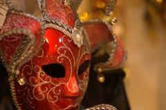 La máscara roja fotografía de archivo
