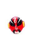 La máscara roja Imagenes de archivo