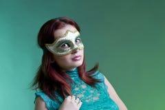 La máscara veneciana Fotografía de archivo