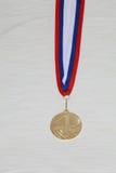 La médaille. Images libres de droits