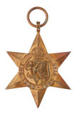1939-1945 la médaille de la deuxième guerre mondiale de l'étoile Images stock
