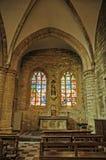 La médiévale Cambre d'Abbaye De Photo stock