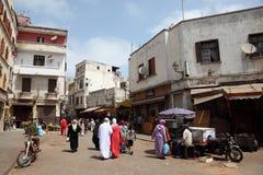 La Médina de Casablanca, Maroc photos stock
