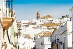 La Médina Sidonia, Andalousie, Espagne Photographie stock