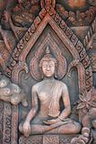 La méditation de Bouddha. image stock