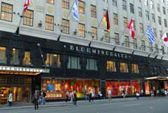La mémoire de Bloomingdale à New York Photographie stock