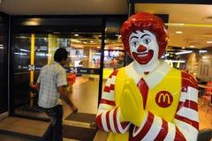 La mémoire de McDonald à Bangkok Photographie stock libre de droits