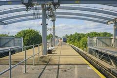 La métro de l'aéroport de Gatwick Photographie stock