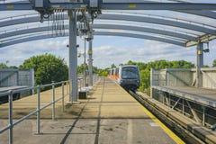 La métro de l'aéroport de Gatwick Photographie stock libre de droits