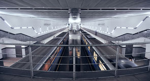 La métro de Moscou Photographie stock libre de droits
