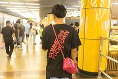 La métro/souterrain de Changhaï Photo stock