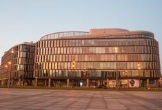La métropolitaine de Regus Varsovie - centre de bureau Photos libres de droits