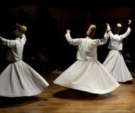 La música de Sufi, derviches de giro muestra, cappadocia, pavo fotografía de archivo libre de regalías