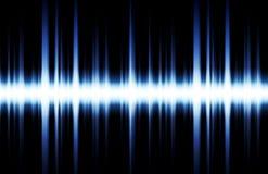 La música inspiró el fondo abstracto de DJ Imagen de archivo