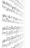 La música observa textura Imágenes de archivo libres de regalías