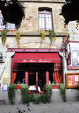La Mère Poulard restaurant Stock Photography
