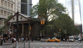 La mañana conmuta en Manhattan foto de archivo libre de regalías