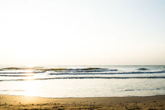 La mañana en el fondo del mar Imágenes de archivo libres de regalías