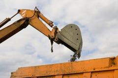 La macchina della costruzione Fotografie Stock Libere da Diritti