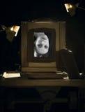 La macchina fotografica antica Fotografie Stock