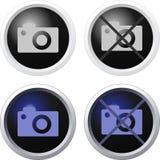 La macchina fotografica ha vietato Immagini Stock Libere da Diritti