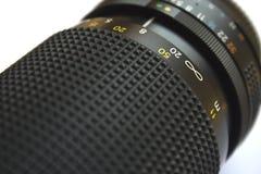 La macchina fotografica len Immagini Stock