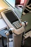 La macchina numerica usa l'impedenza bio--elettrica per dargli l'immagine completa della vostra composizione corporea quale peso, immagine stock libera da diritti