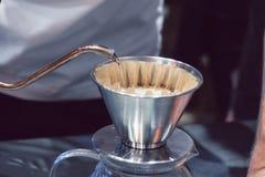 La macchinetta del caffè non è moderna Fotografie Stock