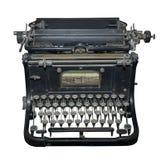 La machine à écrire du début de 20 siècles Images libres de droits