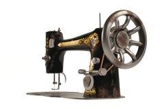 La machine à coudre de vieux vintage Image stock