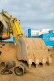 La machine de construction Photo libre de droits