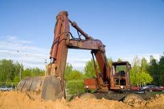 La machine de construction Photographie stock libre de droits