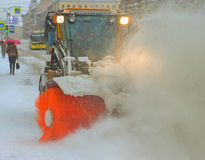 La machine de neige-élimination Photo stock