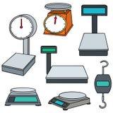 La machine de pesage Photographie stock