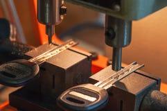 La machine fait des clés Images stock