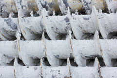 La machine hydraulique Image stock