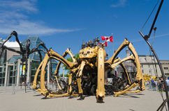 Kumo Giant Spider at the National Gallery Ottawa, Canada 2017 Royalty Free Stock Photography