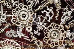 La machine partie le fond Image libre de droits