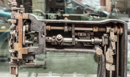 La machine partie le mécanisme Image libre de droits
