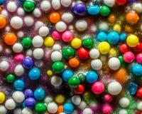La macro asperja Imagen de archivo libre de regalías