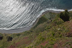 La Madère, Cabo Girao Image libre de droits