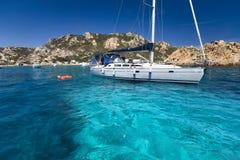 la maddalena Сардиния архипелага Стоковое Изображение RF