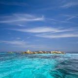 la maddalena Сардиния архипелага стоковые изображения rf