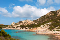 La Maddalena archipelago, Sardinia. Royalty Free Stock Photo