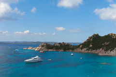 La Maddalena archipelago, Sardinia. Royalty Free Stock Images