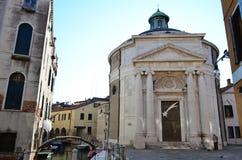 La Maddalena Church nel sestiere di Cannaregio a Venezia, Italia Fotografia Stock