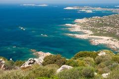 La Maddalena d'île d'horizontal Image libre de droits