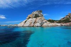 La Maddalena. An island near La Maddalena in Sardinia Italy Stock Photography