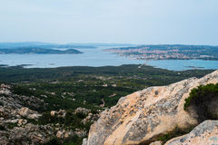 La Maddalena island, Sardinia, Italy Royalty Free Stock Photos