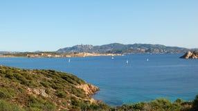 La Maddalena Park. Island of caprera - la maddalena arcipelag Royalty Free Stock Image